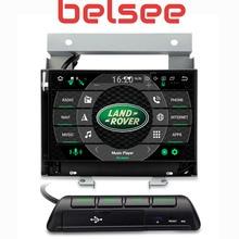 Belsee Android 9,0 Автомагнитола для Land Rover Freelander II 2 стерео головное устройство Bluetooth Сенсорный экран 4 ГБ 8 ядерный GPS навигация