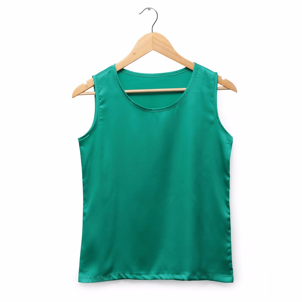 Camisas Mujer Vetement Femme Mujeres Verano Tops Moda 2017 Seda - Ropa de mujer