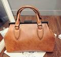 Горячая продажа 2017 женщин сумки женские работа сумка случайный лакированной кожи сумки плеча женщины вестник мешки