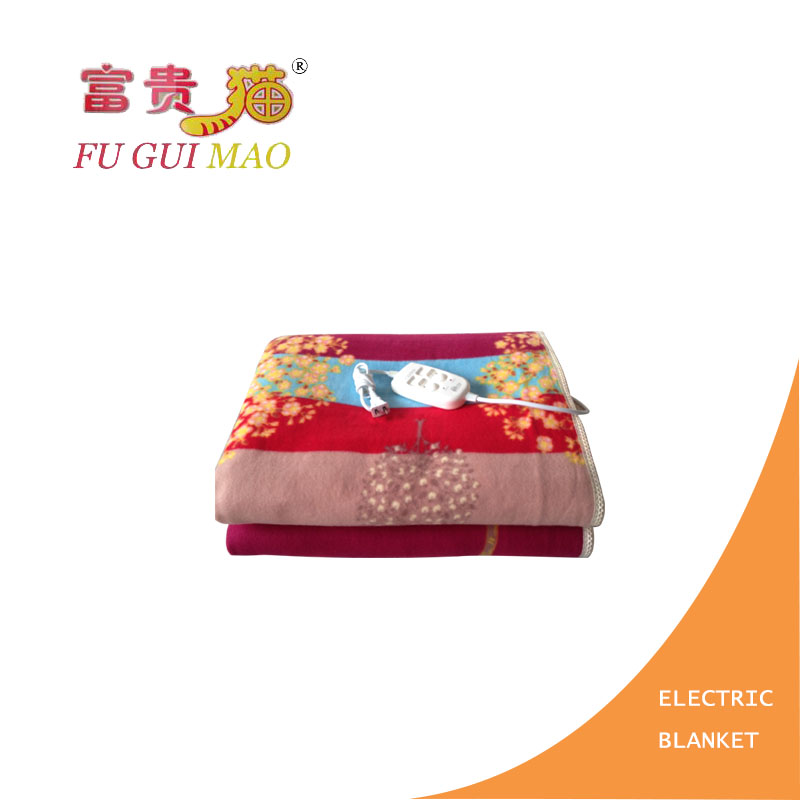 FUGUIMAO Electric Blanket 180*200 Electric Heating Blanket Plush Manta Electrica 220v Mattress Heated Blanket Body Warmer