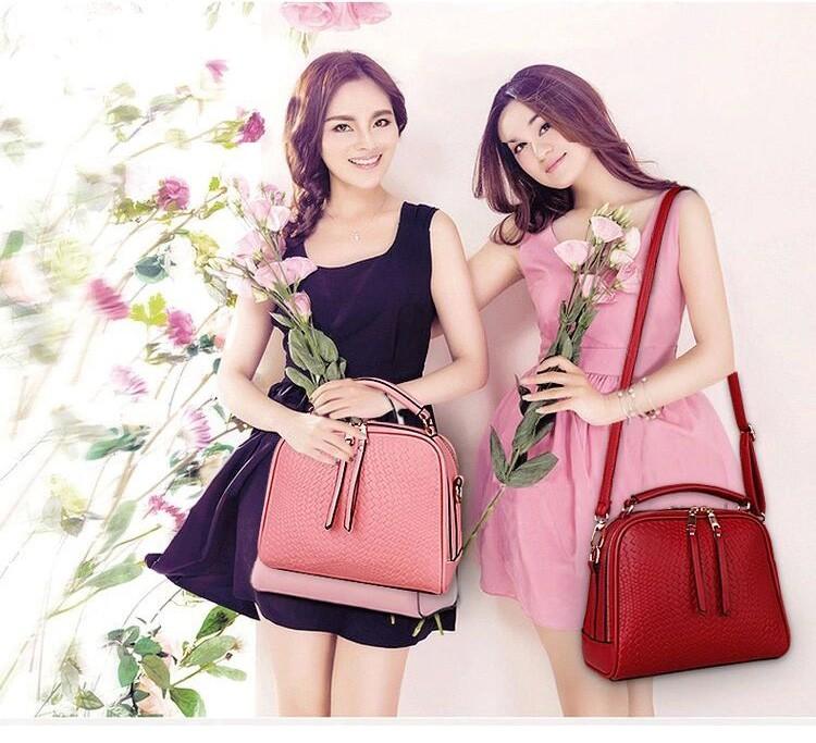 2015 Autumn New Arrival Women Weave Tassel Women PU Leather Handbags Women Shoulder Bag Ladies Casual Messenger Bags BH1150 (4)