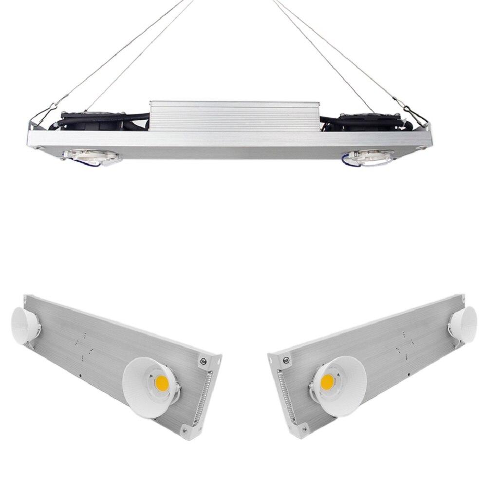 Dimmable COB LED grandir lumière spectre complet CREE CXB3590 Vero29 citoyen 1212 200 W lampe de croissance intérieur plante panneau de croissance éclairage