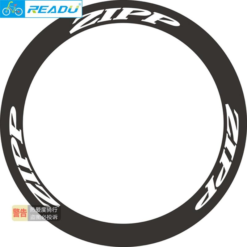 Anwendbar auf die 202/303/404/808 carbon laufradsatz bike kreis aufkleber rennrad Rad Gruppe decals für zwei rad aufkleber
