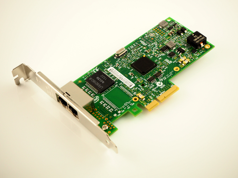 все цены на I350AM2 Chipset 2 Ports PCI-E X4 Gigabit Network Adapter NIC For I350-T2V2 Free Shipping онлайн