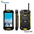 Оригинал Snopow M8 IP68 4.5 ''Android 4.2 MTK6589 Quad Core 1.2 ГГц Противоударный Водонепроницаемый Смартфон 1 ГБ 4 Г 3000 мАч 8MP Телефон