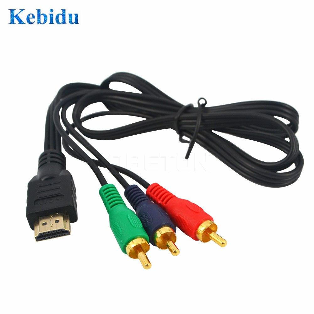 Kebidu, 1 м, HDMI в RCA, фото, телефон 1080P, 3 AV, телефон HDTV, оптовая продажа
