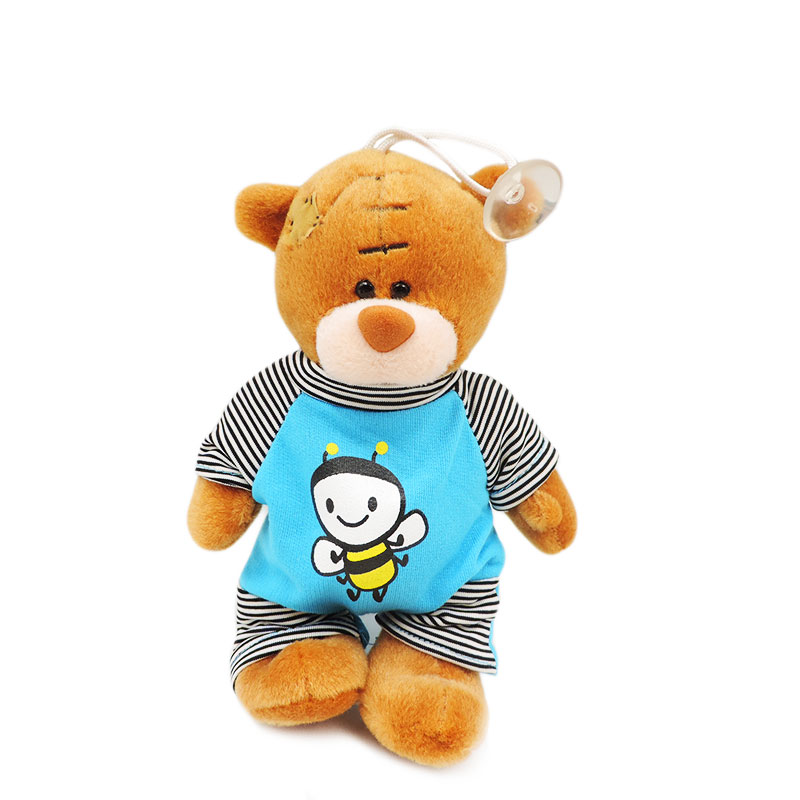 1pc 18cm Small Teddy Bears Stuffed Dolls Brown Tatty Teddy Bear Plush Toys Patch Bears Pendants Doll Kids Children Gifts Decor fancytrader biggest in the world pluch bear toys real jumbo 134 340cm huge giant plush stuffed bear 2 sizes ft90451
