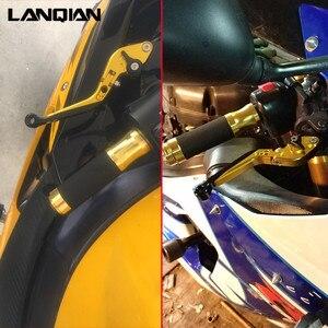 Image 5 - CNC Motorrad Zubehör Einstellbare Folding Brems Kupplung Hebel Für Honda CB1000R 2008 2018 2019 2020 CB 1000R LOGO CB 1000 R