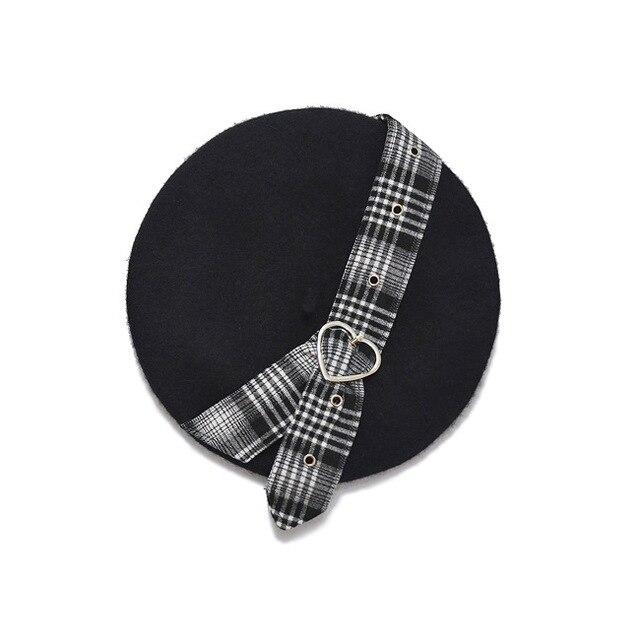 Berets Harajuku Beret Hat...