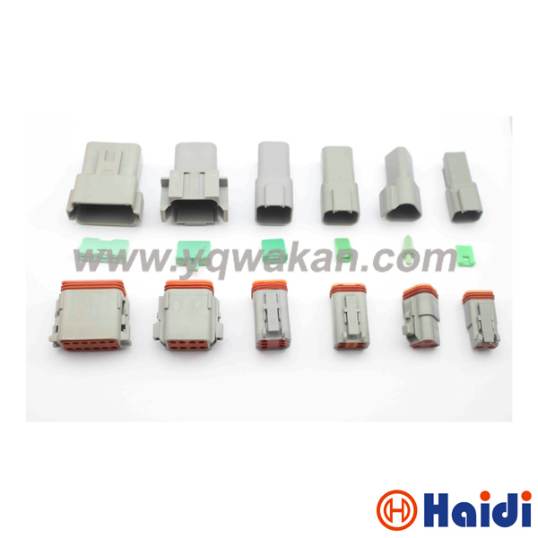 Free shipping 1set 2/3/4/6/8/12pin Deutsch male&female connector DT04-2P DT04-3P DT04-4P/6/8/DT04-12P&DT06-2S/3/4/6/8/DT06-12S 1 sets deutsch dt06 dt04 2 3 4 6 8 12 pin engine gearbox waterproof electrical connector for car bus motor truck