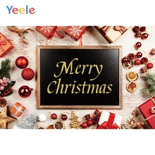 Yeele Christmas Family Party Photocall Decoration Photography Backdrops Personalized Photographic Backgrounds For Photo Studio