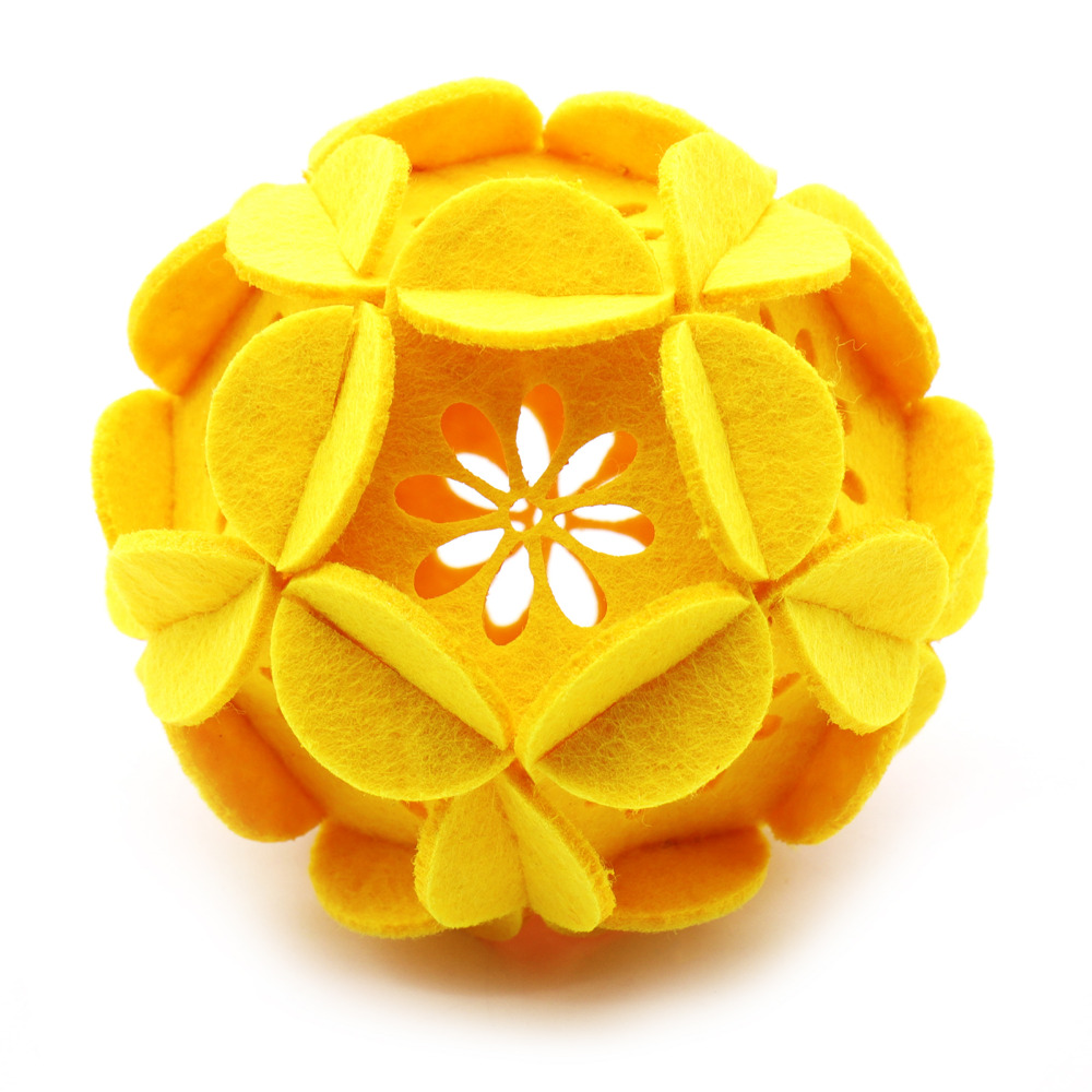 1pcs Exquisite Felt Ball Flower Unique Creative Flower Ball For