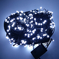 Thrisdar 100M 500 Bulbs Led Fairy String Light 8 Function Black Cable Outdoor Garden Christmas Party Wedding home Garland Light