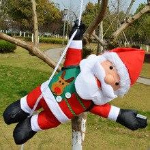 Climb Rope Santa Claus Ornaments Christmas Tree Decorations New Year