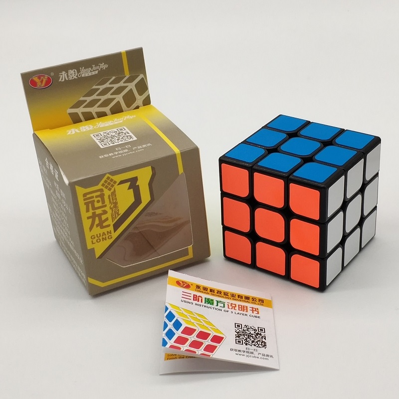 YJ GuanLong 3x3x3 Magic Cube Classic SpeedCube Professional Cube Neo Cubo Magico Puzzle Toy For Children Educational Gift