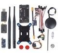 Systerm ArduPilot APM2.6 APM Flight Controller 2.6 + Ublox 6 М GPS ж/Компас + PM + 433 МГц 3DR Телеметрии + OSD сторона контактный версия