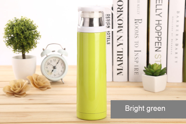 500mL Vacuum Insulation Cup steel warm water bottle heat pot outdoor,Travel Mug Tea Coff ...