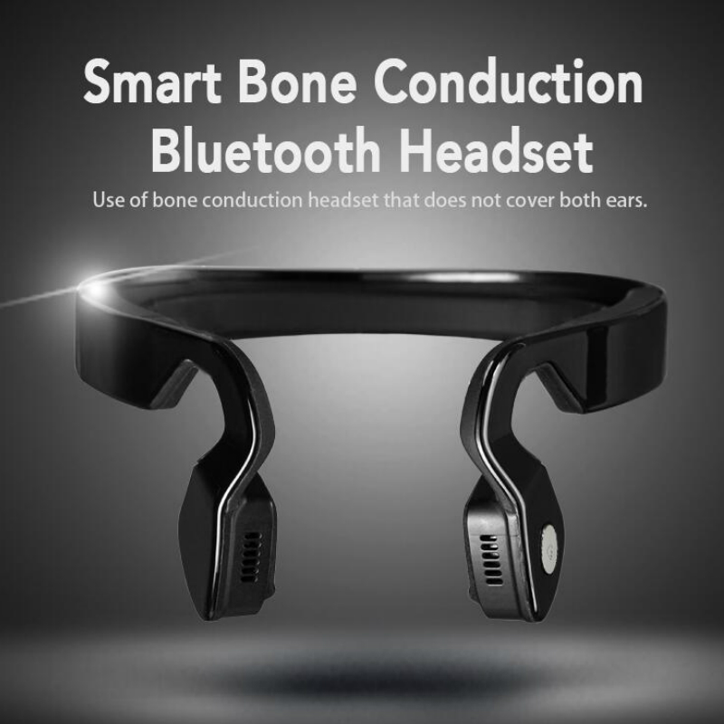 S.Wear Bone Conduction Bluetooth Wireless Stereo Headset Sports Headphones Earphones Hands Free Speaker Mic For Iphone With Box washable winter men women hat bluetooth beanie with wireless stereo headphones mic hands free rechargeable for mobile phones
