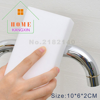 1000pcs/lot White Magic Sponge Eraser Melamine Cleaner 100*60*20mm Melamine Sponge For Kitchen Cleaning Melamine-sponge Supplier фото