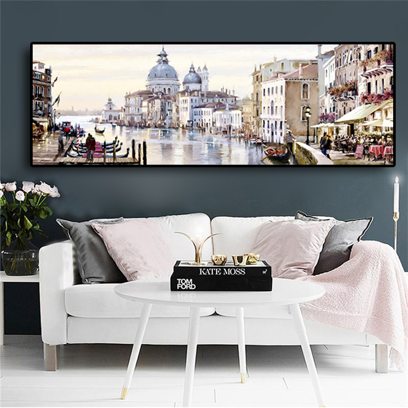 Abstract Venice City of Water diamond Painting full diamond embroidery Boats Buildings cross stitch kits home decor giftAbstract Venice City of Water diamond Painting full diamond embroidery Boats Buildings cross stitch kits home decor gift