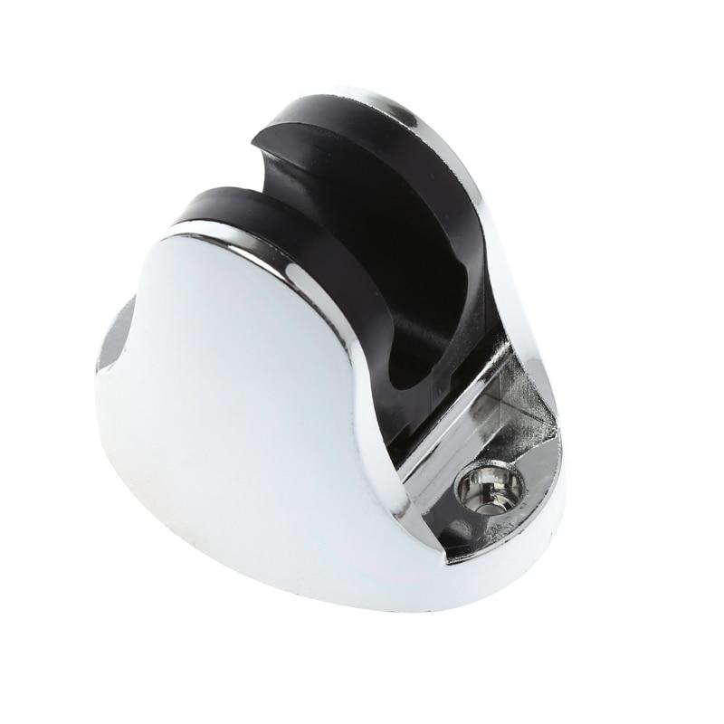 chrome-bathroom-shower-base-holder-adjustable-hose-wall-mount-head-stand-bracket