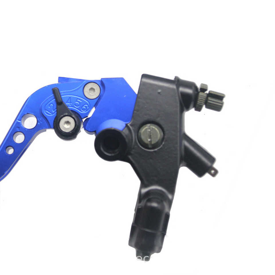 Moto 22mm 7/8 ''câble embrayage frein maître-cylindre pompe hydraulique leviers pour Yamaha Honda Kawasaki Suzuki BMW 50CC-300CC