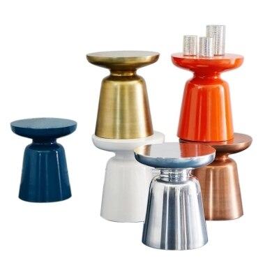 все цены на Nordic living room sofa creative decorative leisure coffee table small tea table