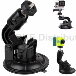 Heavy Duty Car Suction Cup Mount for Sony Action Cam Gopro Sjcam Sj4000 Xiaomi Yi Action Camera DSLR And Camcoders