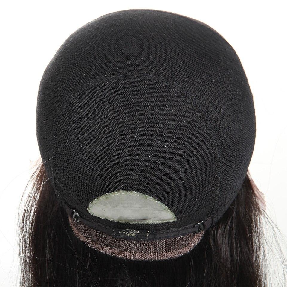 Sleek Hair Full Lace Human Hair Wigs For Black Women 22 Inch Brazilian Straight Hair Wig Free Shipping (2)