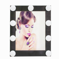 New Designed Vanity Tabletops Lighted mirror Hollywood Makeup Mirror With 9 LED Bulb Lights Adjustable Light Bulb