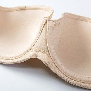 Image 4 - Womens Underwire Contour Multiway Strapless Plus Size Bra