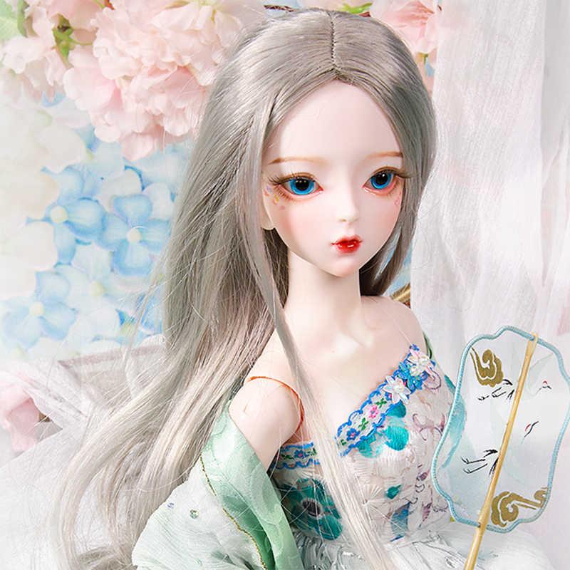 DBS 1/3 BJD кукла индивидуальный макияж механическое тело, включая парик, глаза, одежду, обувь AI YoSD MSD SD набор игрушка подарок DC лати