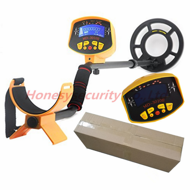 MD-3010II Metal Detector Gold Digger Treasure Hunter Ground Searching metal detector/Nugget finder Gold silver detector MD3010 md 5008 under ground metal detector gold digger coin finder treasure hunter big coil