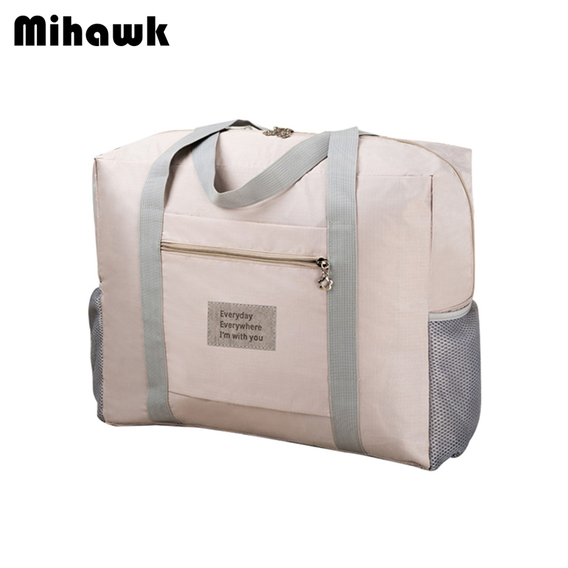 Mihawk Large Casual Travel Bags Women's Men's Foldable Travel Bags Clothes Luggage Storage Organizer Pouch Cases Suitcase Stuff