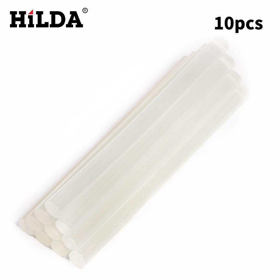 HILDA 10 Unids / lote 7mm x 98mm Sticks de pegamento de fusión en - Herramientas eléctricas - foto 2