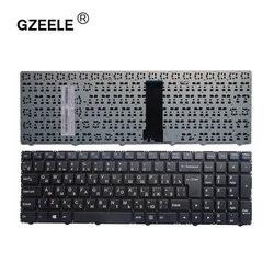 GZEELE rosyjska klawiatura dla Clevo WA50SFQ WA50SHQ WA50SJQ WA50SRQ serii Laptop rosyjska MP 13Q56SU 4301 6 80 WA500 281 1 czarny w Zamienne klawiatury od Komputer i biuro na