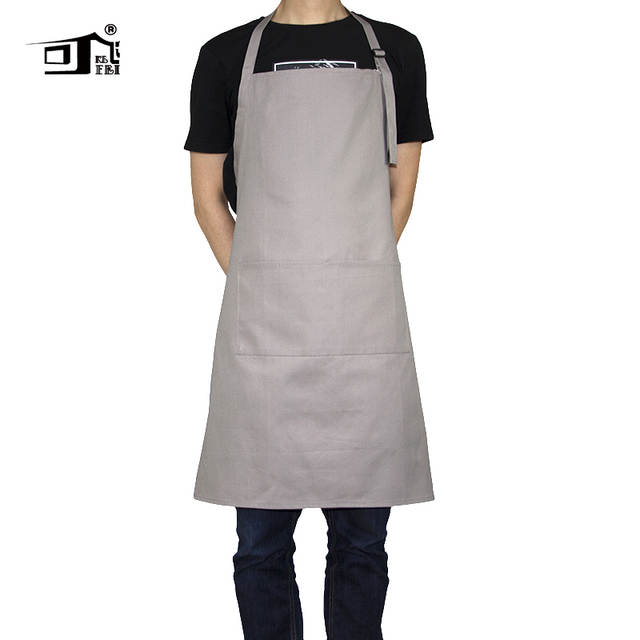 better promo codes best deals on Original KEFEI 2019 New amazon cooking art apron for adults adjustable  kitchen apron factory chef apron cotton apron pinafore