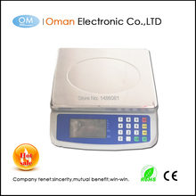 Oman-T580A scale weighing electronic platform scale with figuring price function 30kg