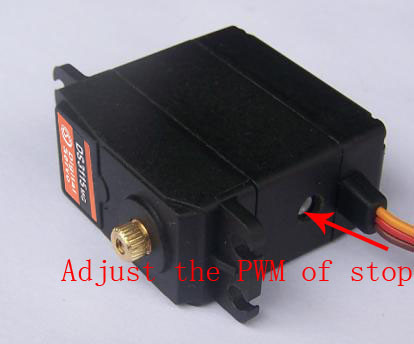 1x servo 360 degree Continuous Rotation Servo DS3109 Metal gear arduino servo Digital servo 10kg cm
