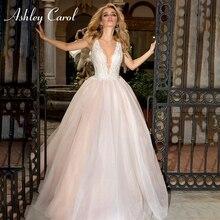 Ashley Carol Wedding Dress 2019 A-Line Bride Dresses