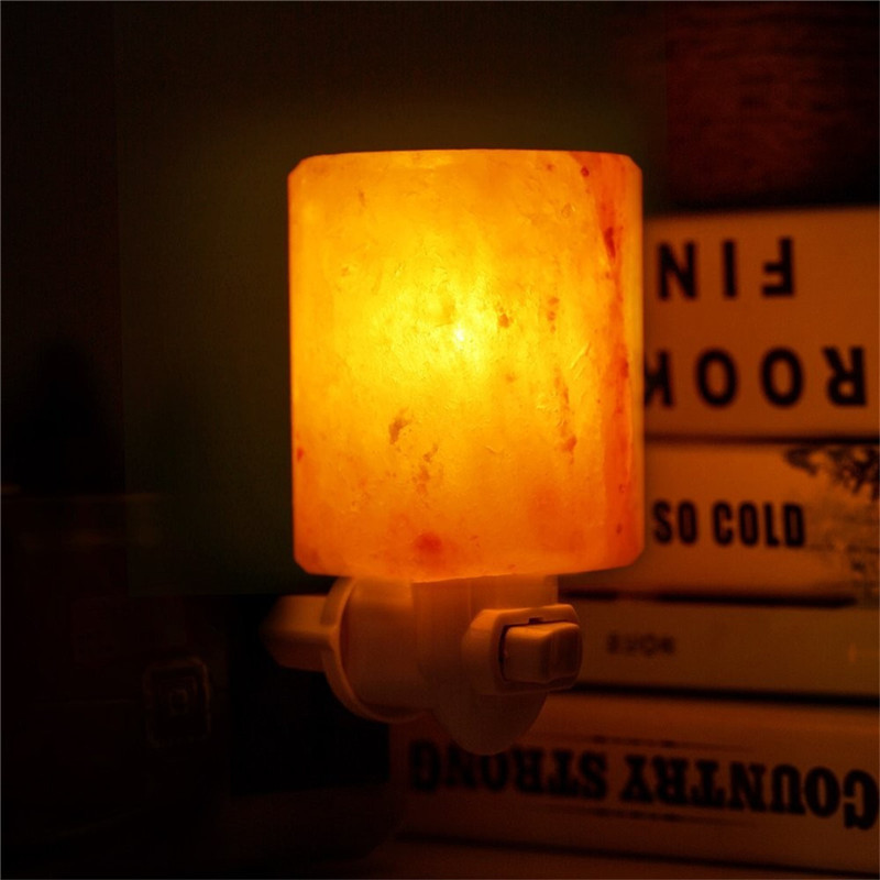 Novelty Rotatable Mini Himalayan Salt Night Light AC110-220V lava lamp light for living room decoration lava lamp night light