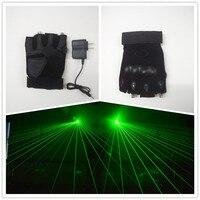 Hot Sale New Design DJ Club Green 532nm Laser Gloves W 2pcs Green Lasers Disco Laser