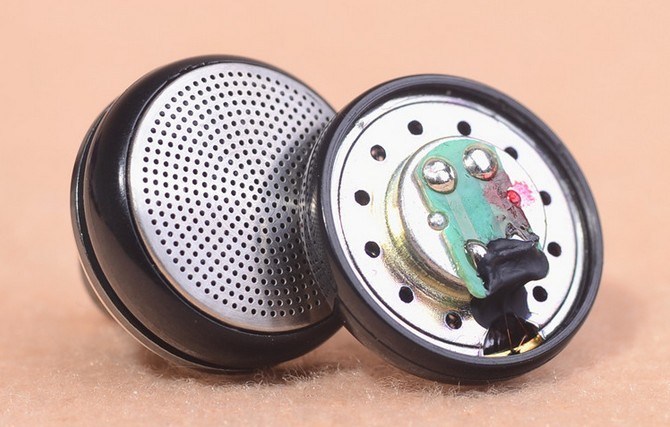 15.4mm speaker unit earphone driver bass/vocal