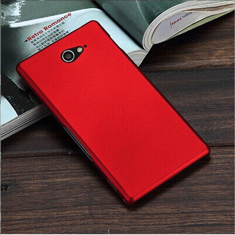 Для sony Xperia M2 чехол матовый Жесткий Пластик чехол для Coque sony Xperia M2 двойной D2302 крышка S50H D2303 телефон случаях черный Капа