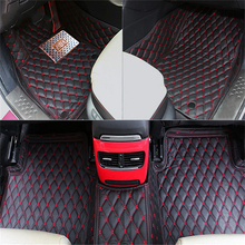 Right Left Hand Drive Car front rear Floor Mat carpets Pad cover For Mazda 3 AXELA M3 2014 2015 2016