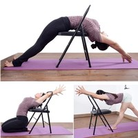 Foldable Yoga Chair For Women Home Furniture Yoga Sport Sofa Leisure Chairs Bearing 150KG Spong Cushion Sofas Female High Q