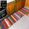 European And American Fashion RUG Geometric Length Of The National Wind Bedroom Bedside Kitchen Carpet Mat