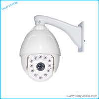 6 Inch 1080P AHD Medium Speed Dome Camera Outdoor Indoor RS485 18X Optical Zoom Full Hd