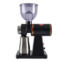 220V/110V electric coffee grinder mill 8 gear adjustable household coffee bean grinders crusher coffee grinding machine 100W HOT