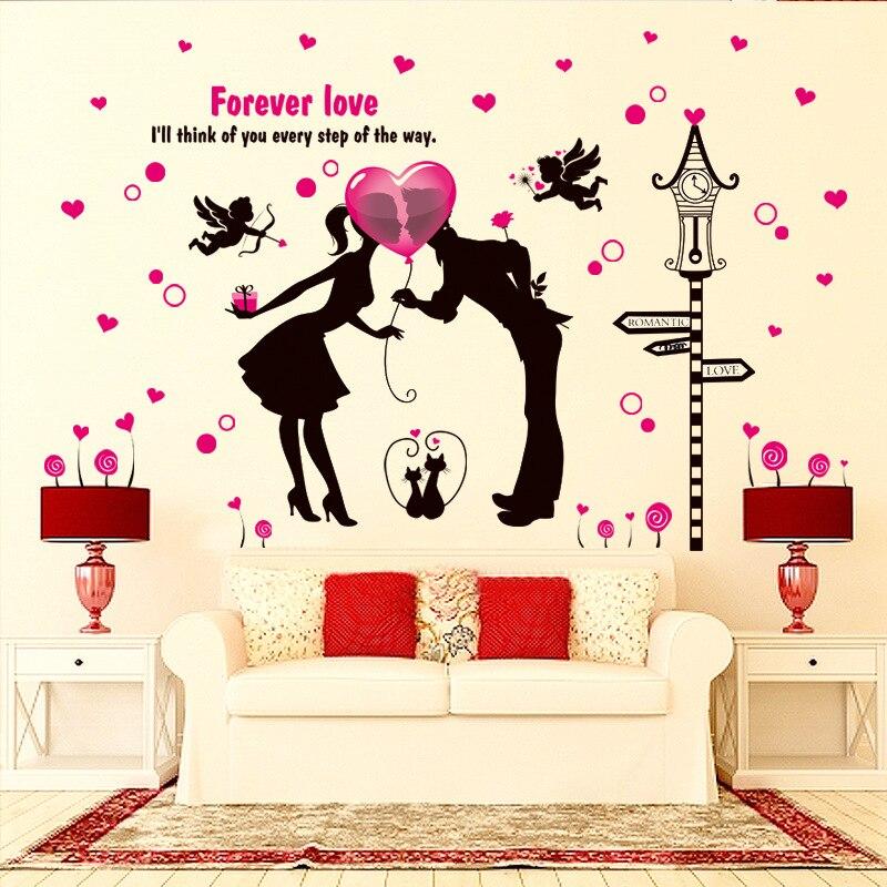 Romantic Valentine Tapety Sala Weselna Para Sypialni